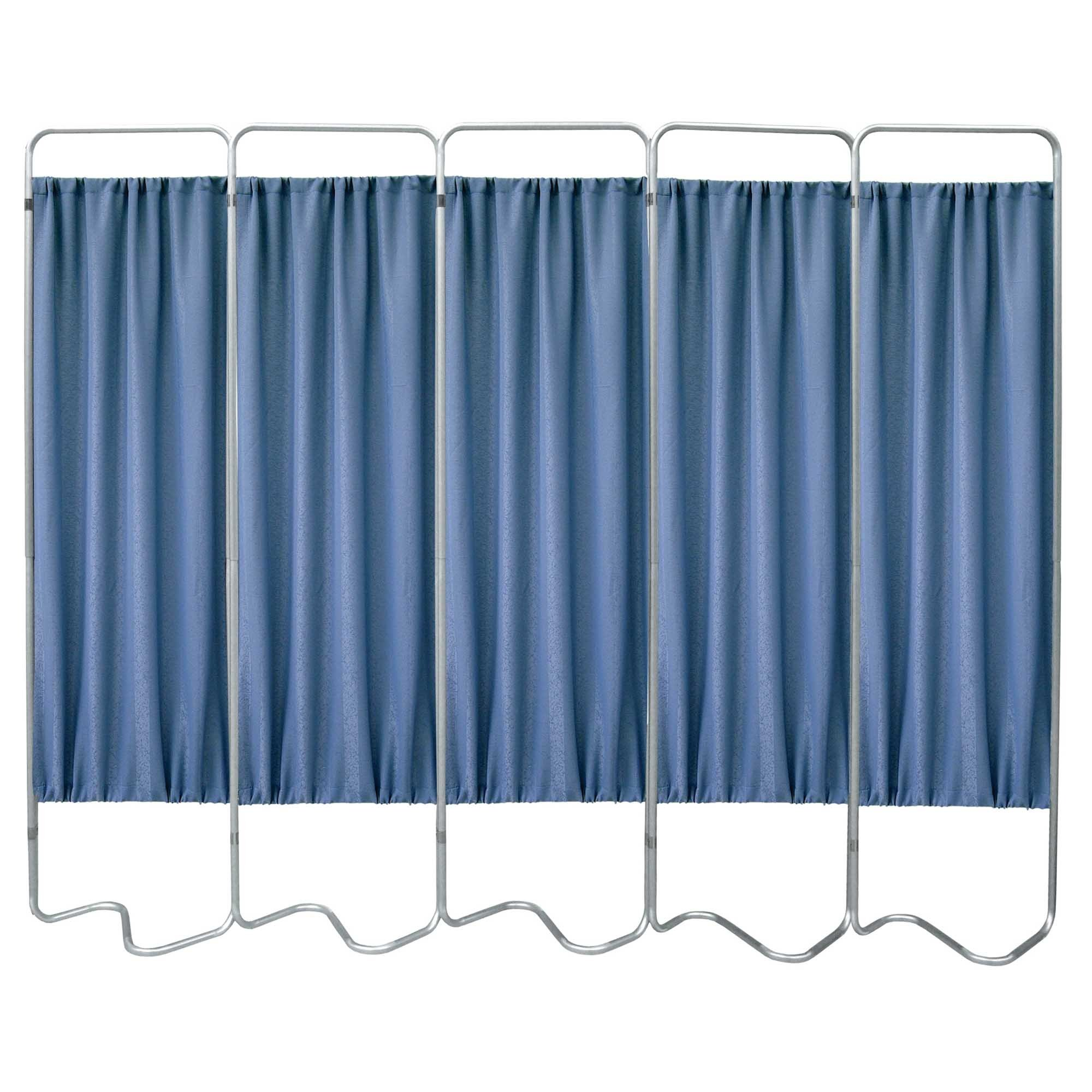 Beamatic 5 Section Folding Privacy Screen - Norway Designer Cloth Screen Panel