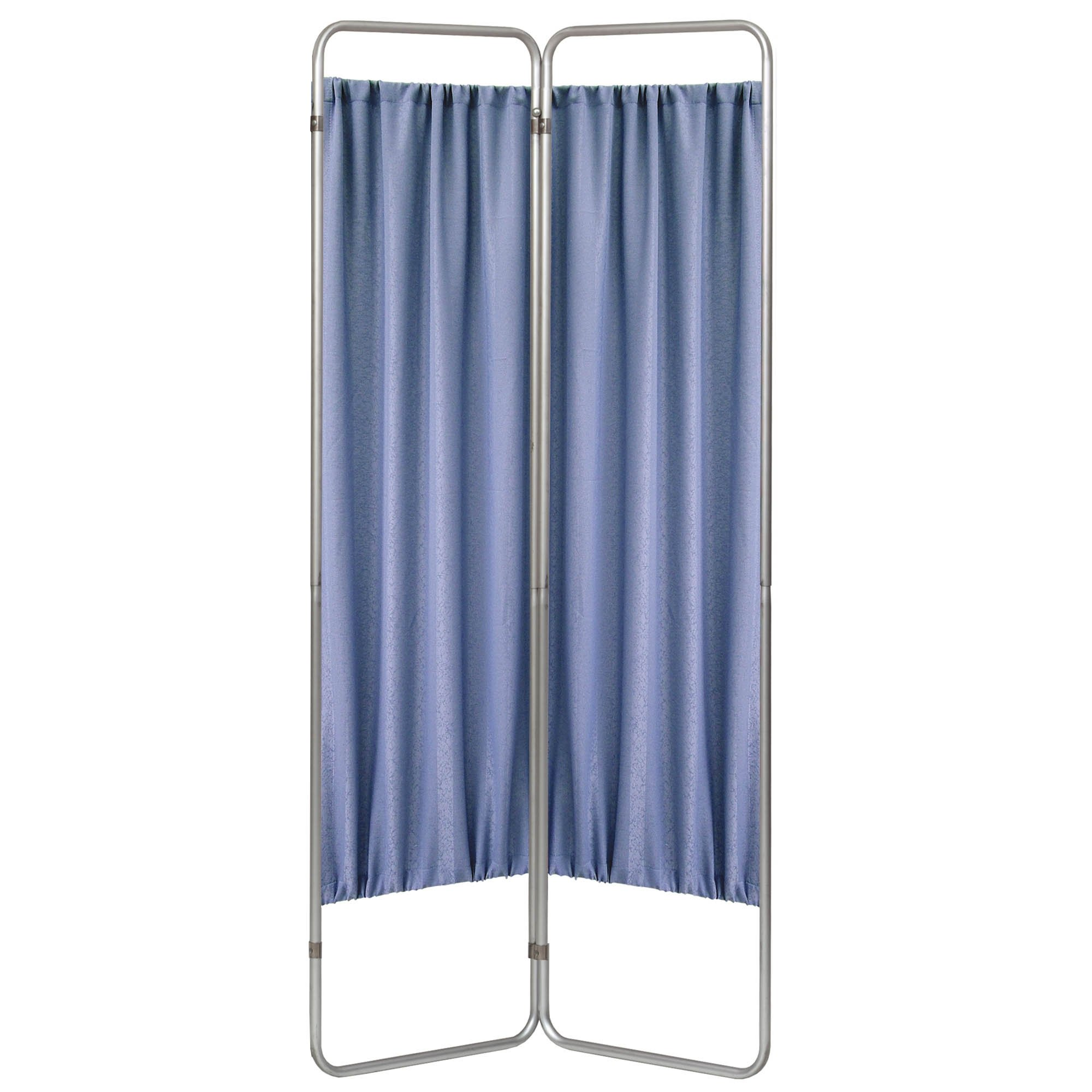 Economy 2 Section Folding Privacy Screen - Norway Designer Cloth Screen Panel