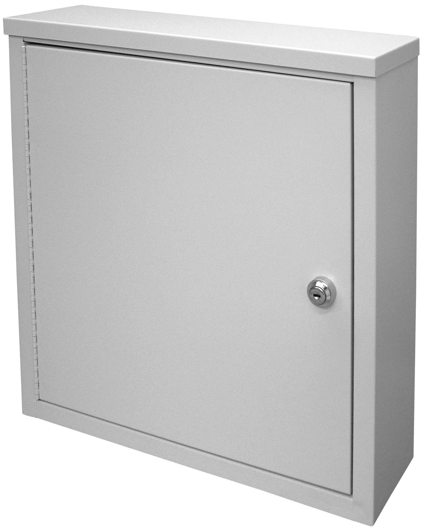 Small Wall Storage Cabinet - Light Grey