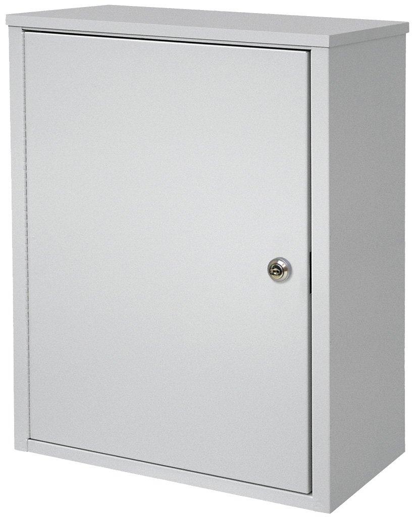 Medium Wall Storage Cabinet - Light Grey