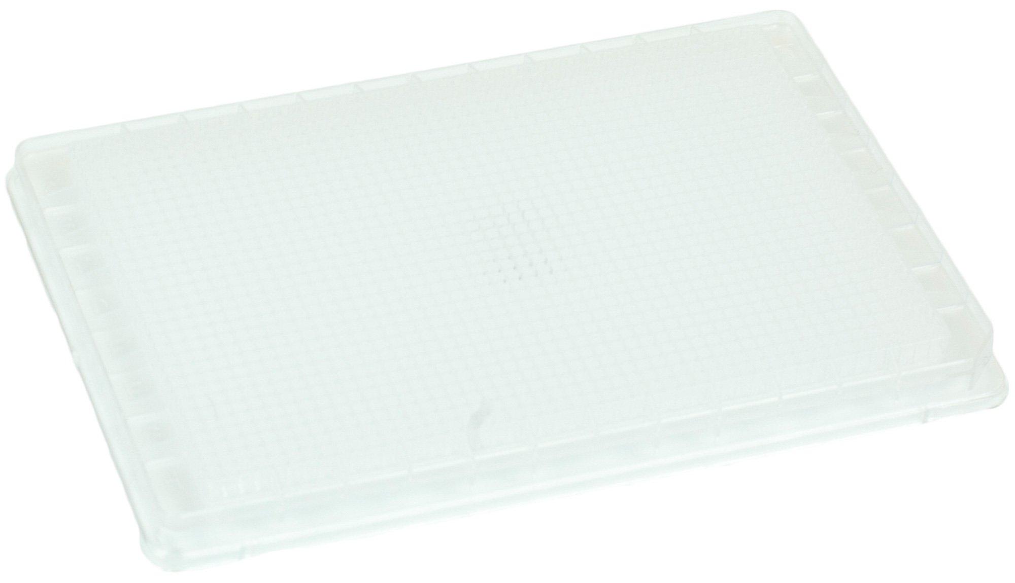 BRANDplates pureGrade Non-Treated Non-Sterile Surface 1536-Well Plate - Transparent, F-Bottom
