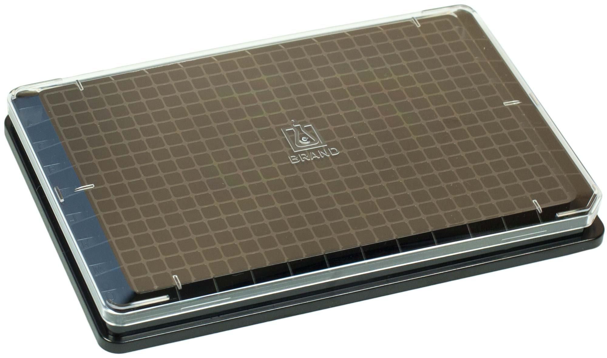 BRANDplates pureGrade S Non-Treated Sterile Surface 384-Well Plate - Black, F-Bottom
