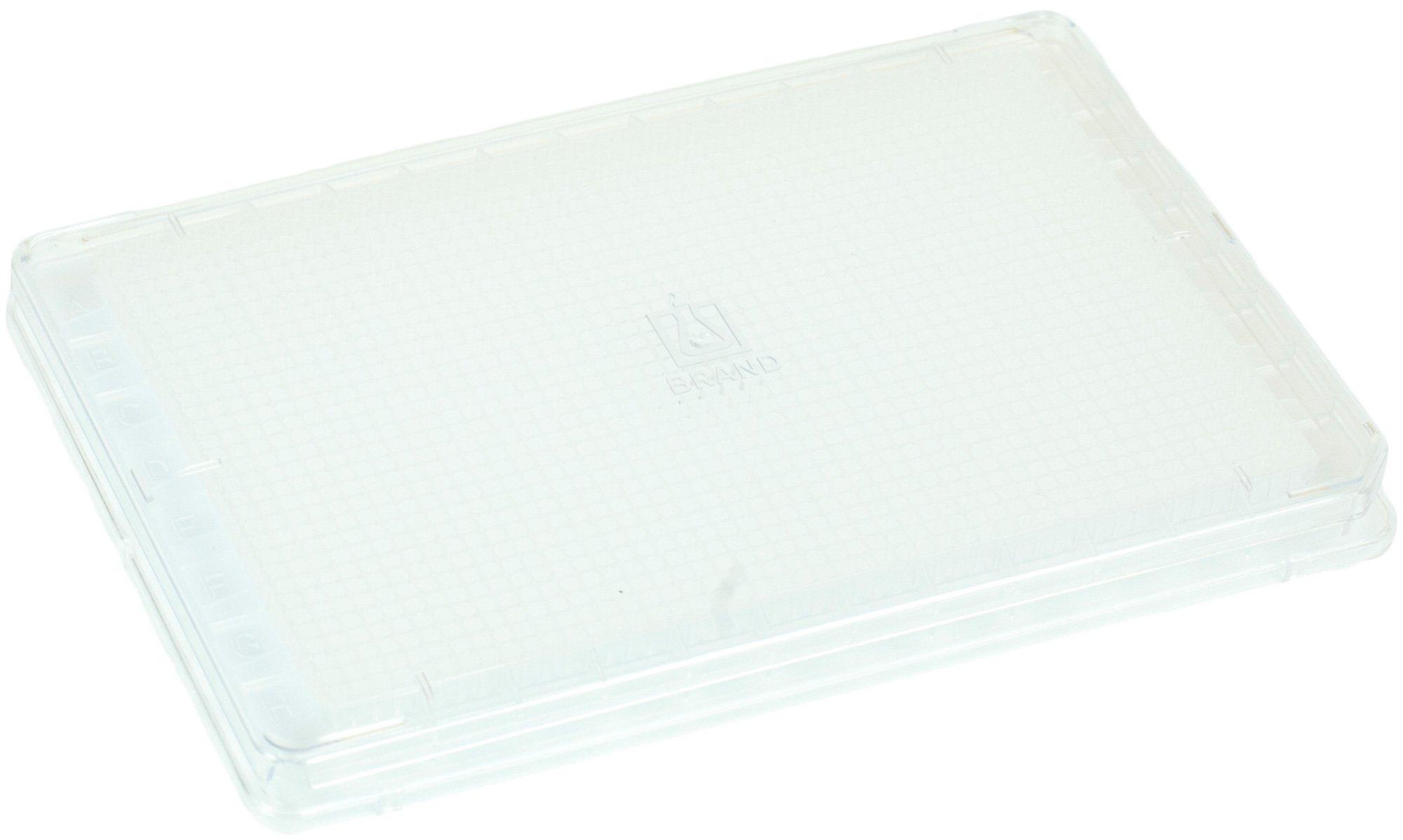 BRANDplates cellGrade Treated Sterile Surface 1536-Well Plate - Transparent, F-Bottom