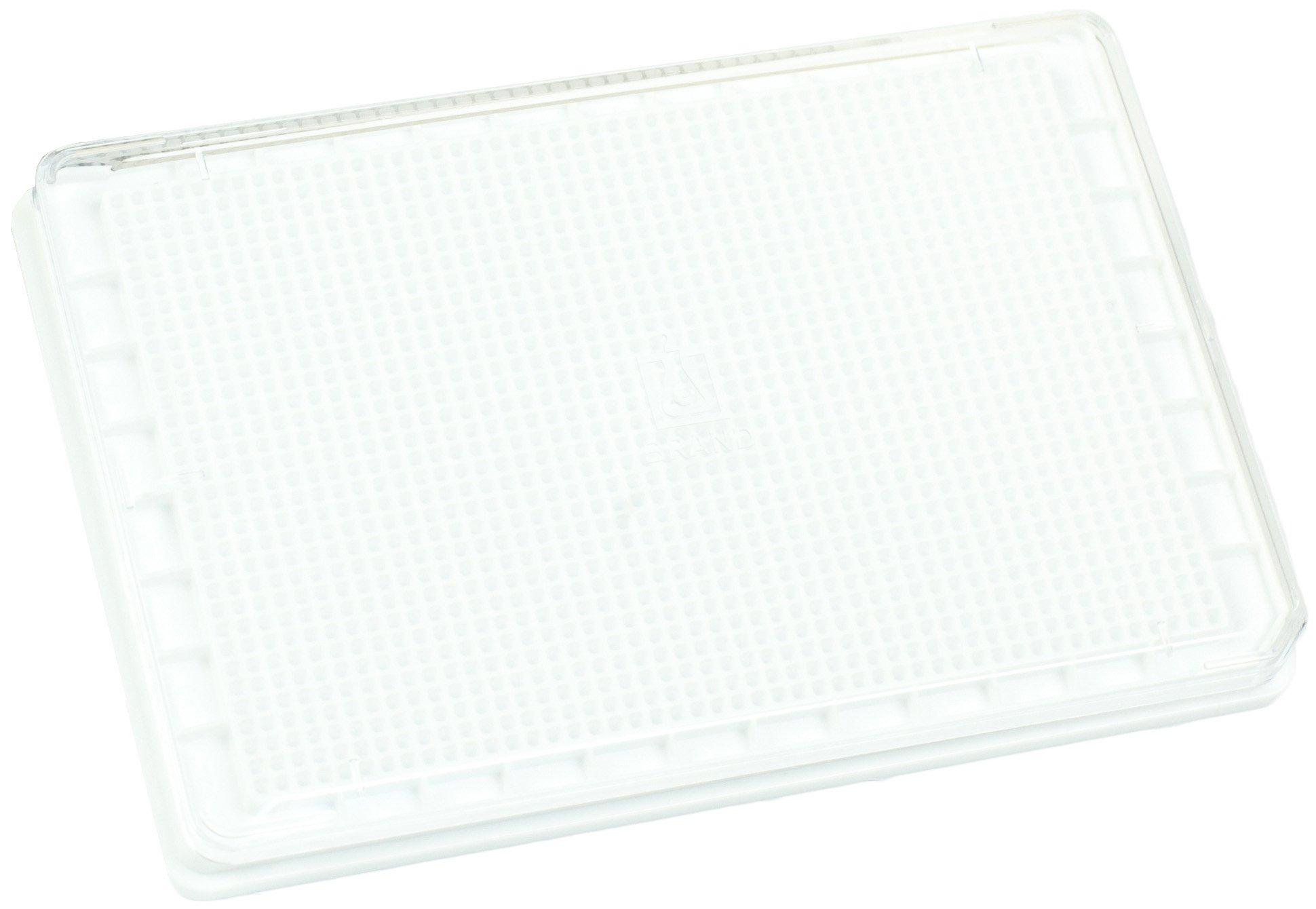 BRANDplates cellGrade Treated Sterile Surface 1536-Well Plate - White, F-Bottom