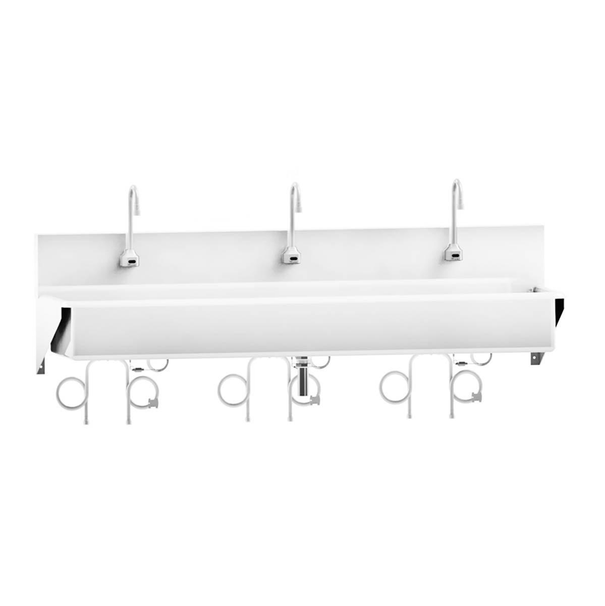 Windsor Scrub Sink - Triple-Place Infrared Sensor Control - 69