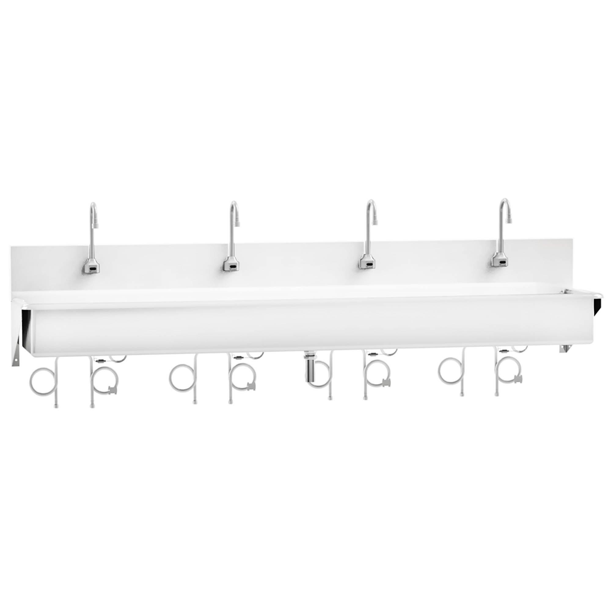 Windsor Scrub Sink - Four-Place Infrared Sensor Control - 91