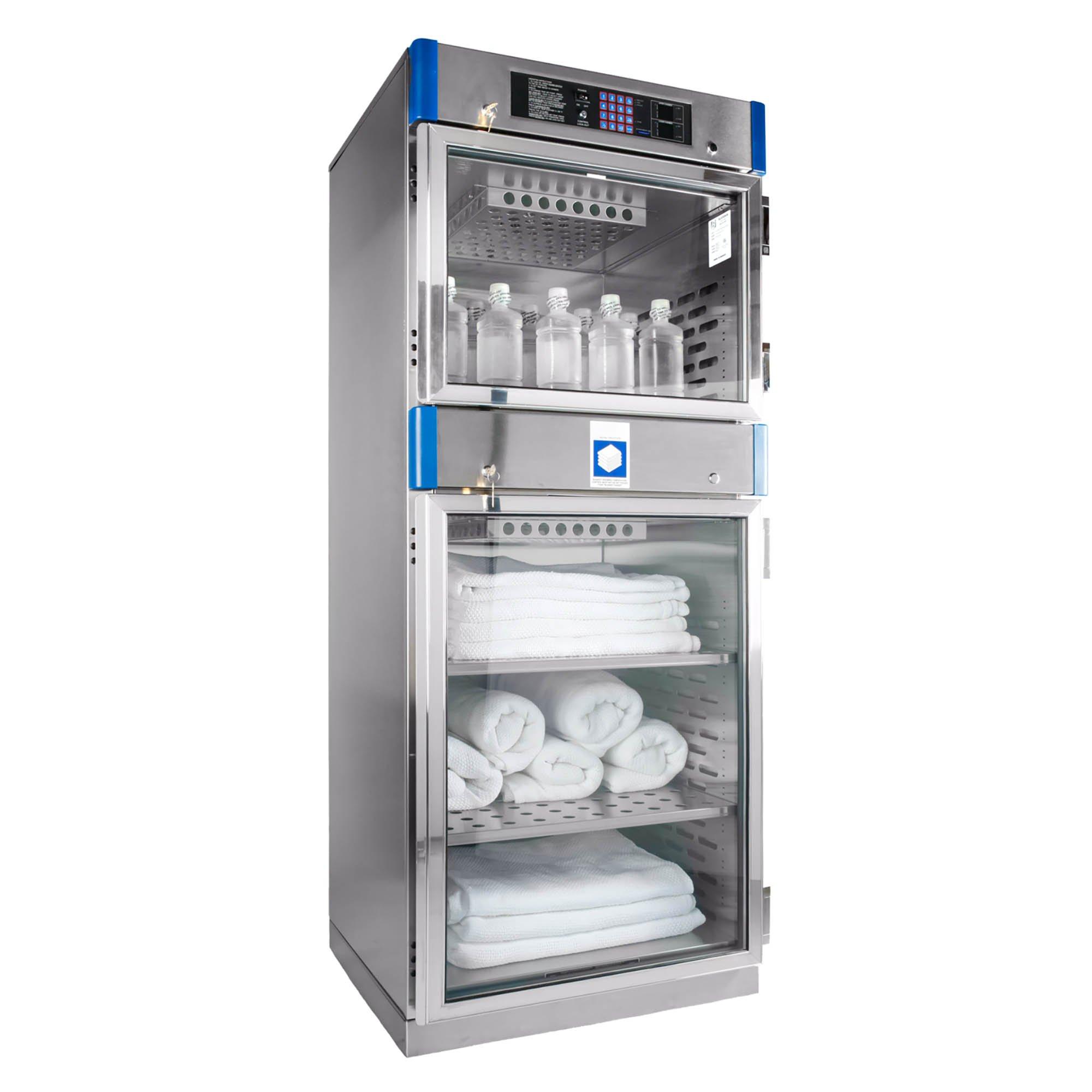 Blickman Warming Cabinets - Double Glass Door - 74 1/2