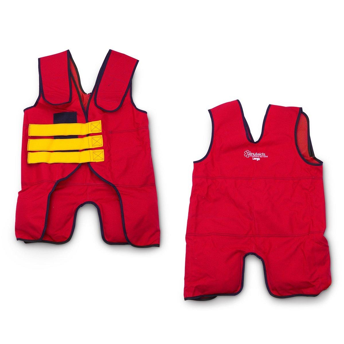 Simulaids Training Vest - 20 lb. - Large