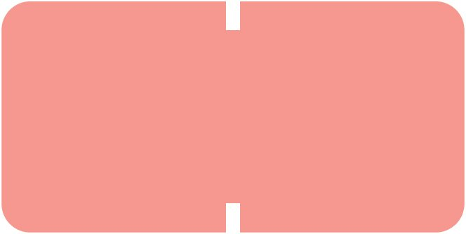 Tab Products 1281 Match A1281 Series Solid Color Roll Labels - Pink