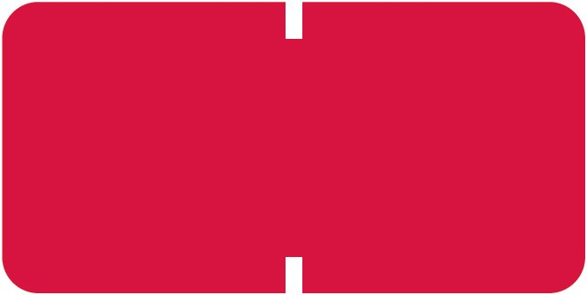 Tab Products 1281 Match A1281 Series Solid Color Roll Labels - Red