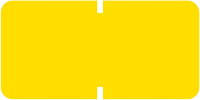 Tab Products 1281 Match A1281 Series Solid Color Roll Labels - Yellow
