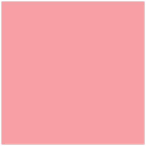 Ames L-A-00178 AMLP Series Solid Color Roll Labels - Pink