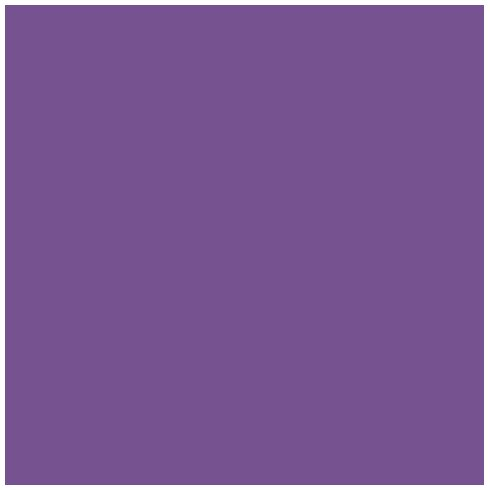 Ames L-A-00178 AMLP Series Solid Color Roll Labels - Purple