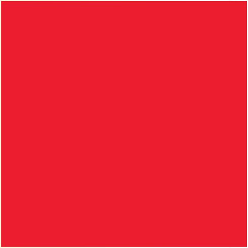 Ames L-A-00178 AMLP Series Solid Color Roll Labels - Red