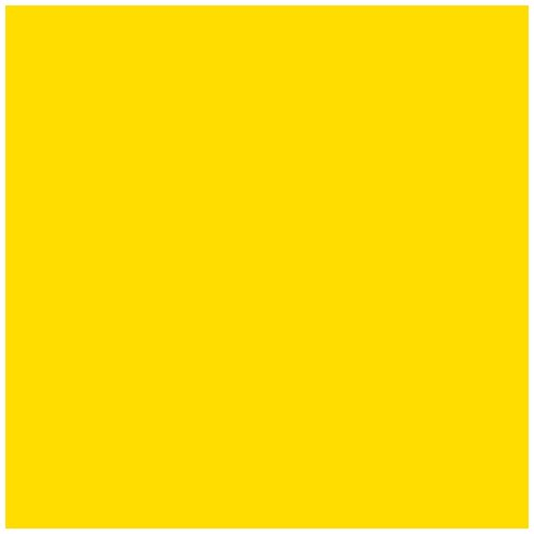 Ames L-A-00178 AMLP Series Solid Color Roll Labels - Yellow