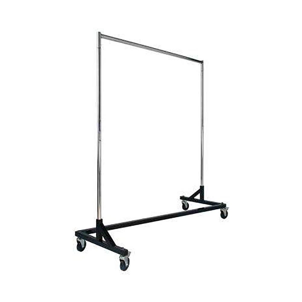 Mobile Z-Base Apron Storage Rack without Apron Hangers