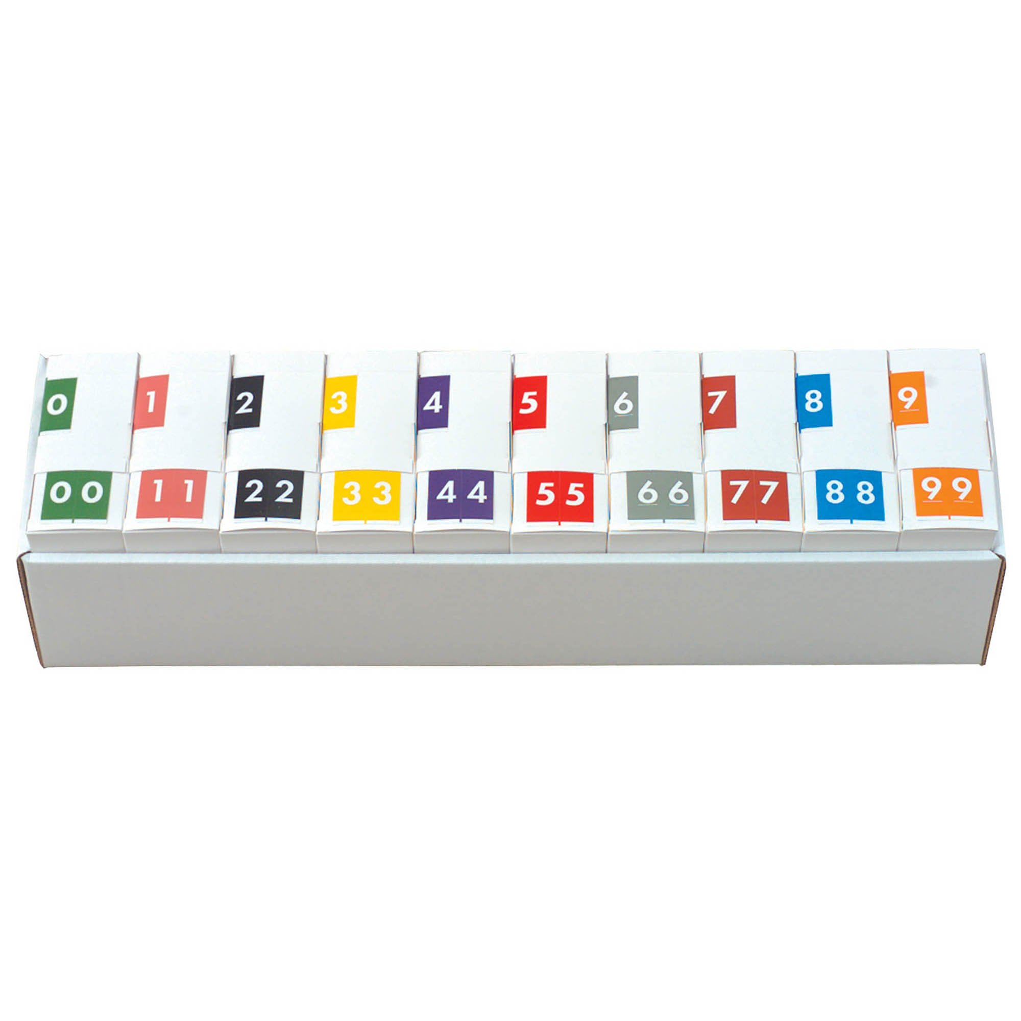 Barkley FNAVM Match AVNM Series Numeric Roll Labels - Set of Number 0 To 9
