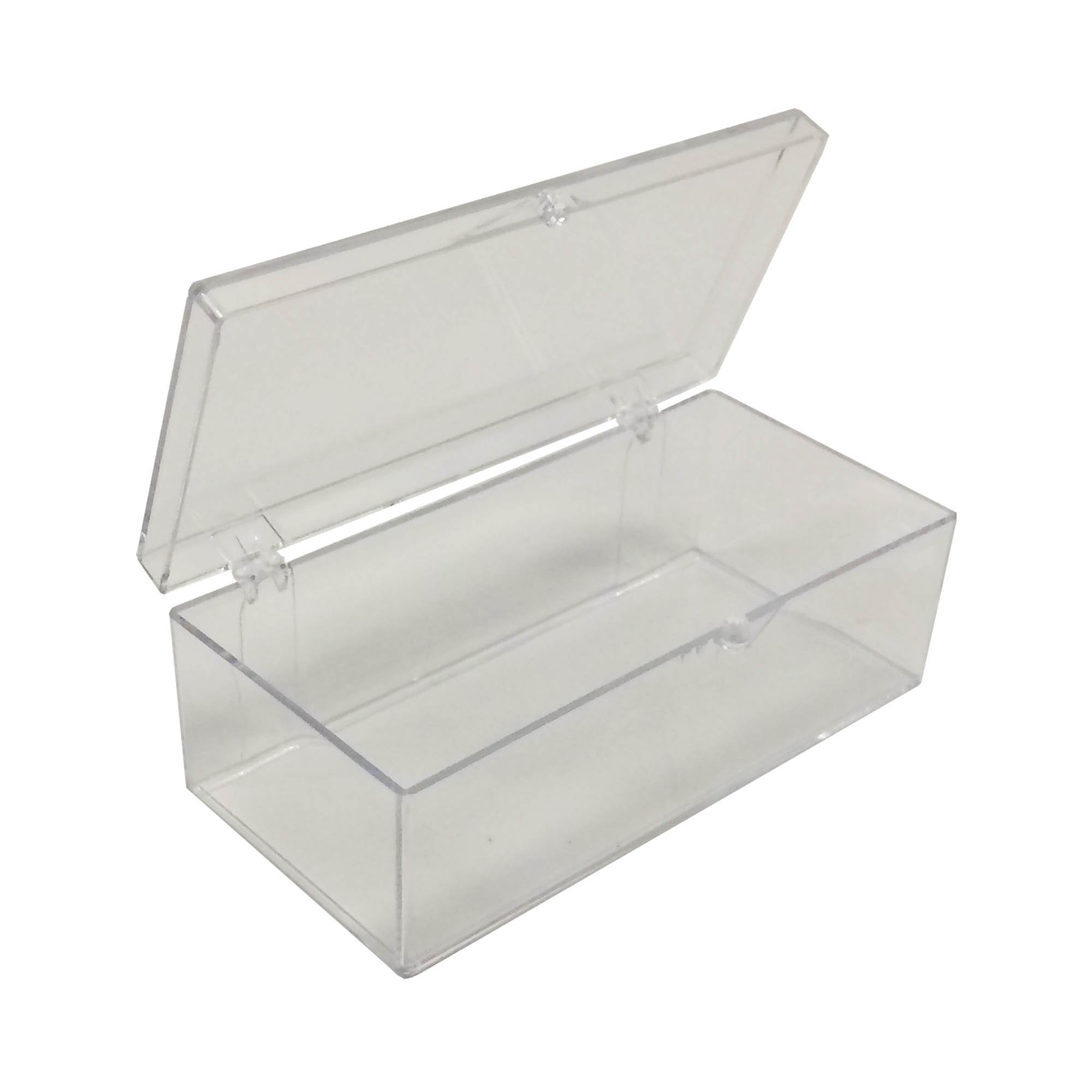 Medium Strip Clear Western Blot Box - 4 3/8