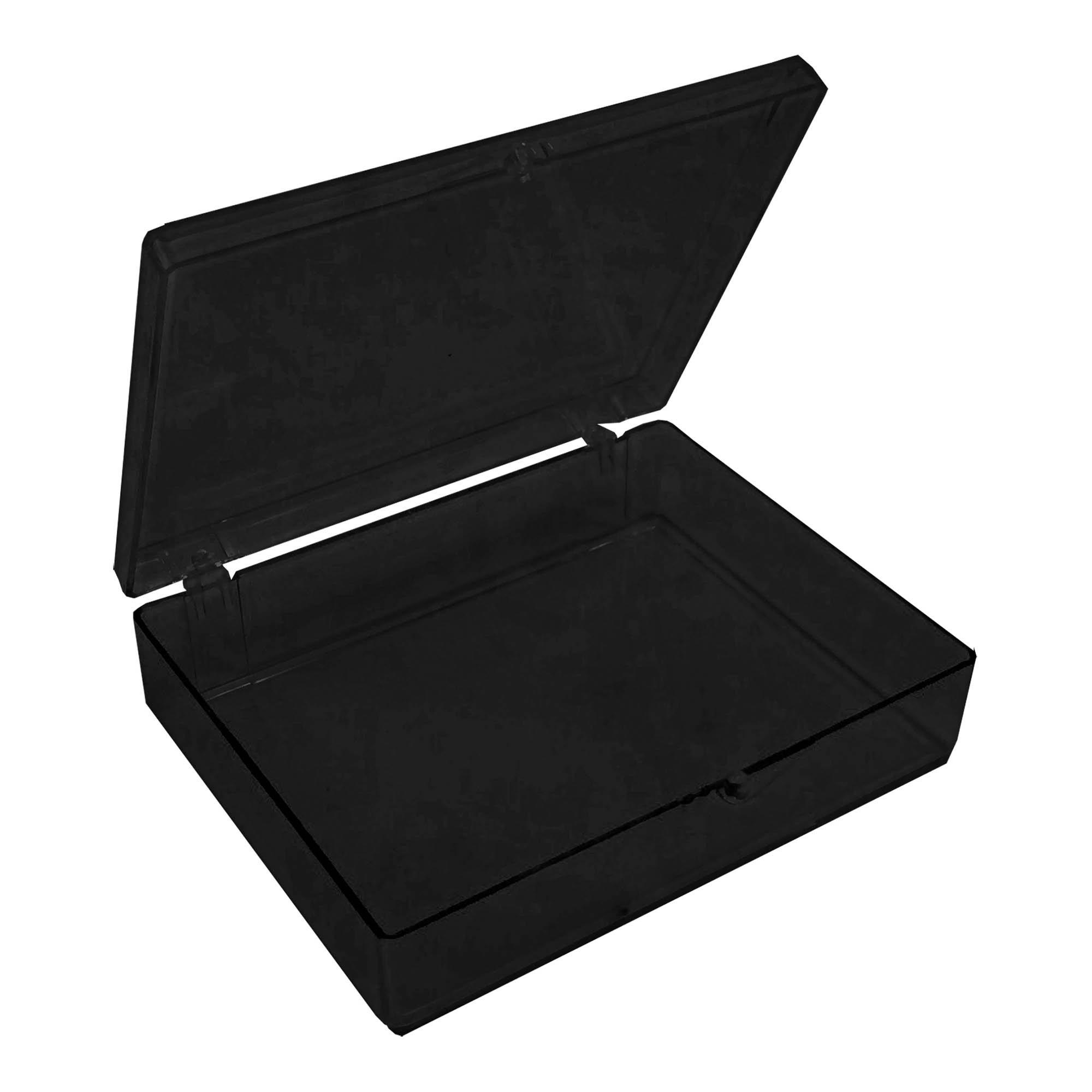 Large Opaque Black Western Blot Box - 4 5/8