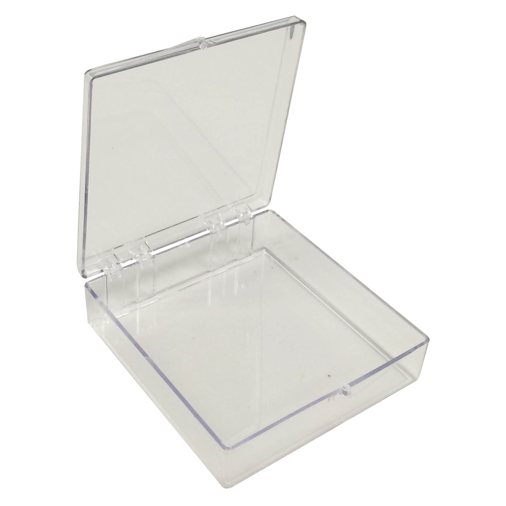 Square Clear Western Blot Box - 4 9/16