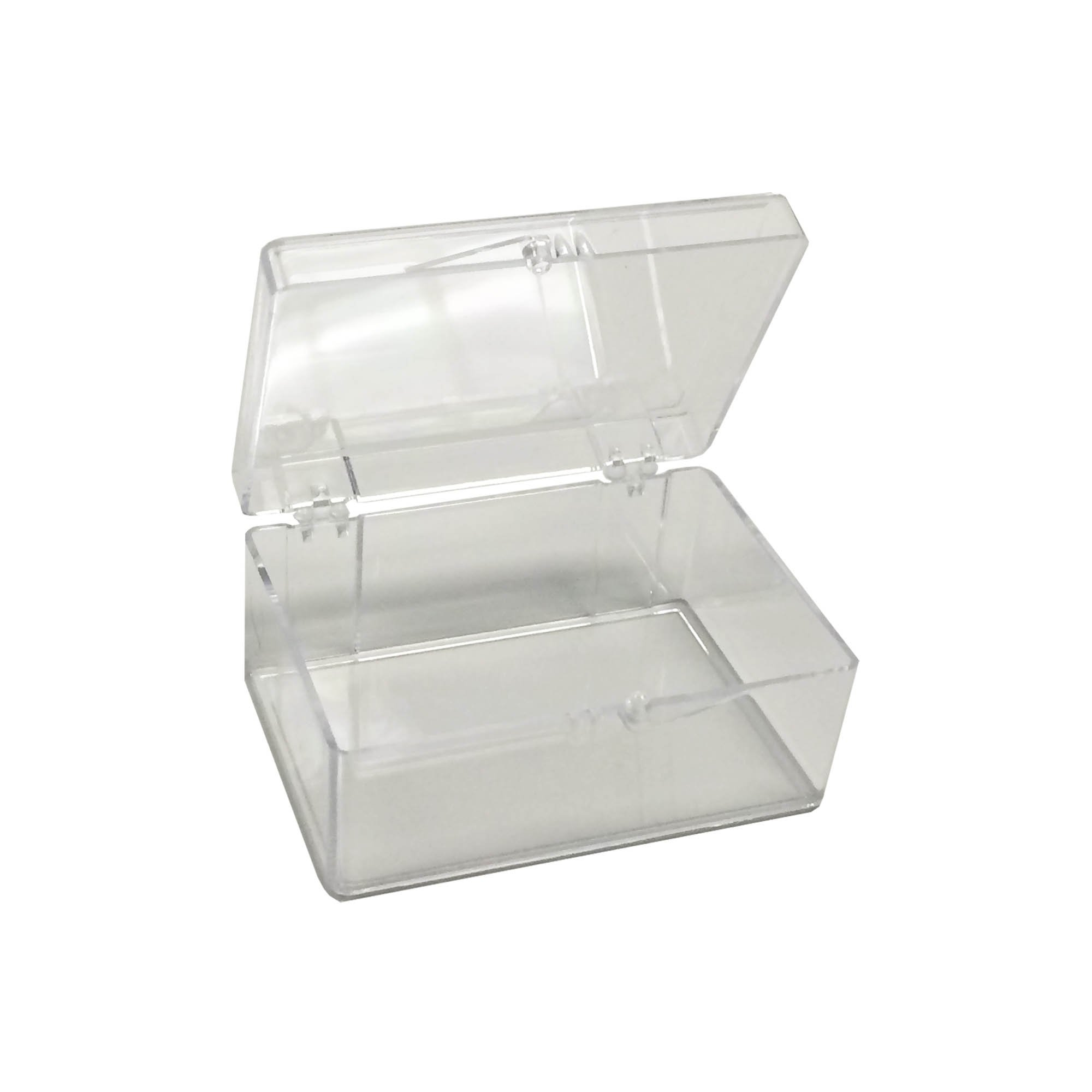 Mini-Rectangle Clear Western Blot Box - 2 7/8