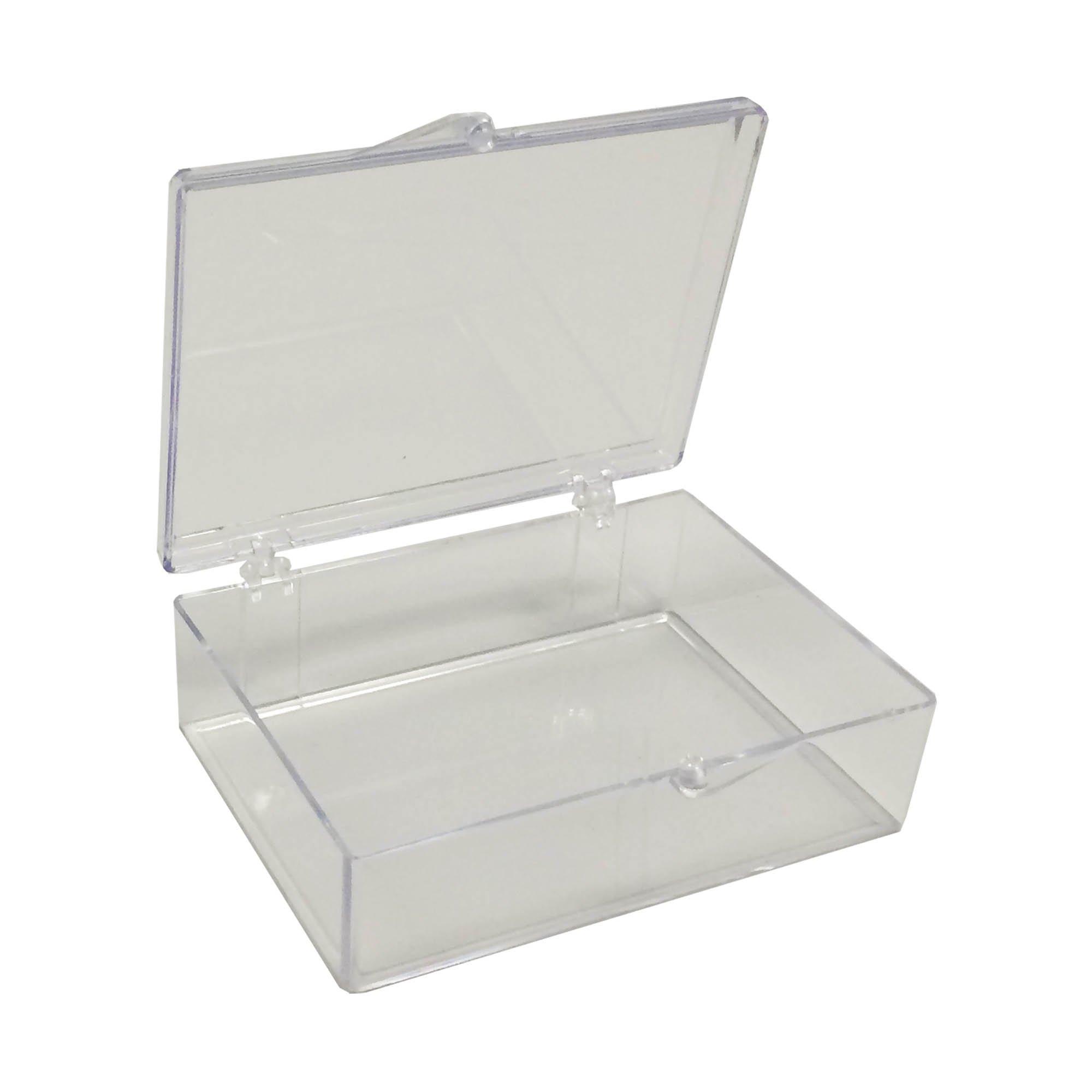 Medium Rectangle Clear Western Blot Box - 3 1/2