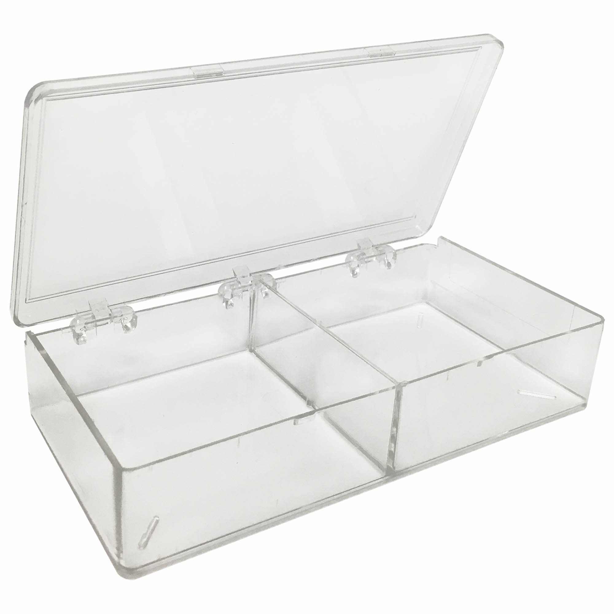 MultiBox Clear Western Blot Box - 2 Compartments 85 x 85 x 30mm Each (Case of 36)