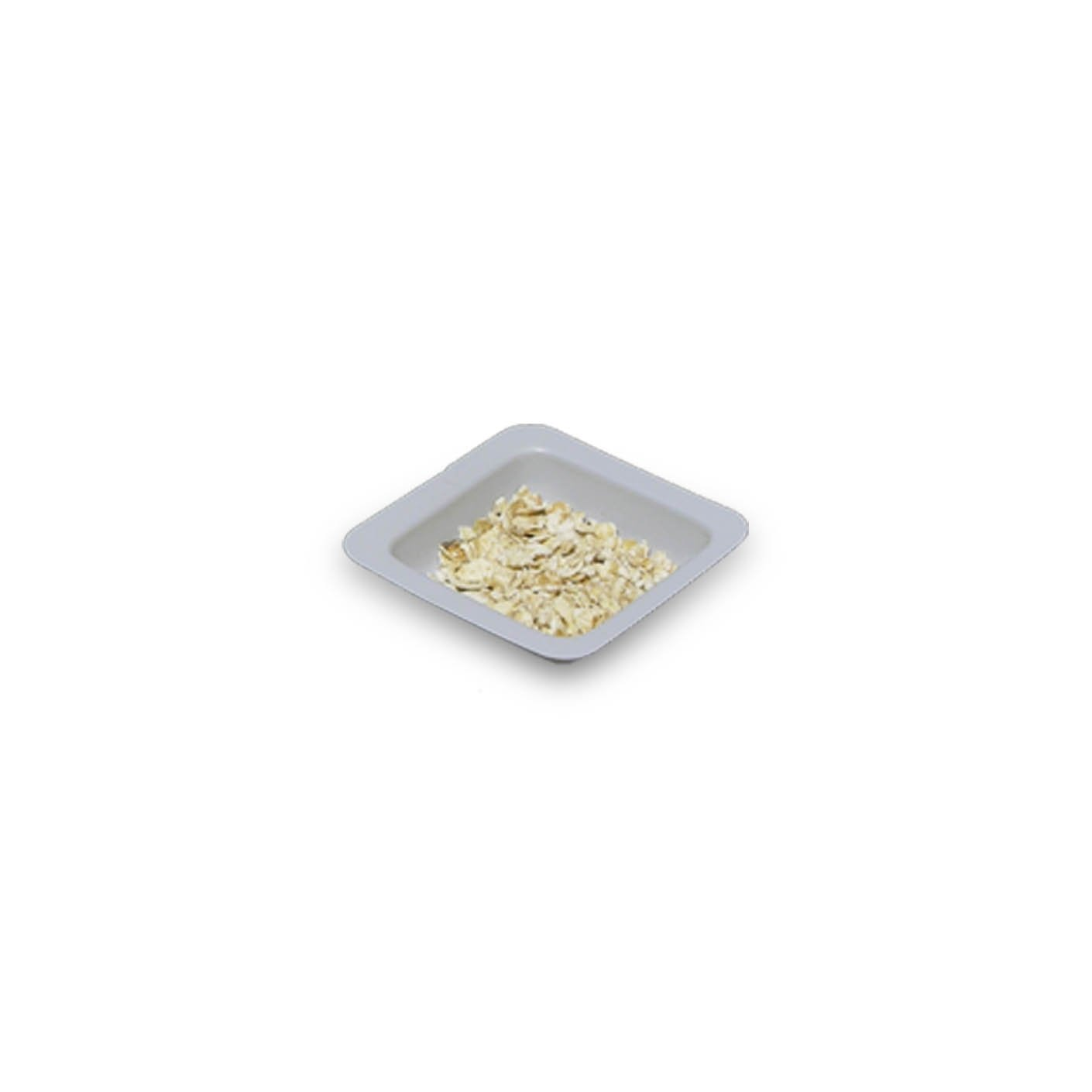 20mL White Antistatic Polystyrene Square Weigh Boat (25 Packs/Case - 500/Pack)