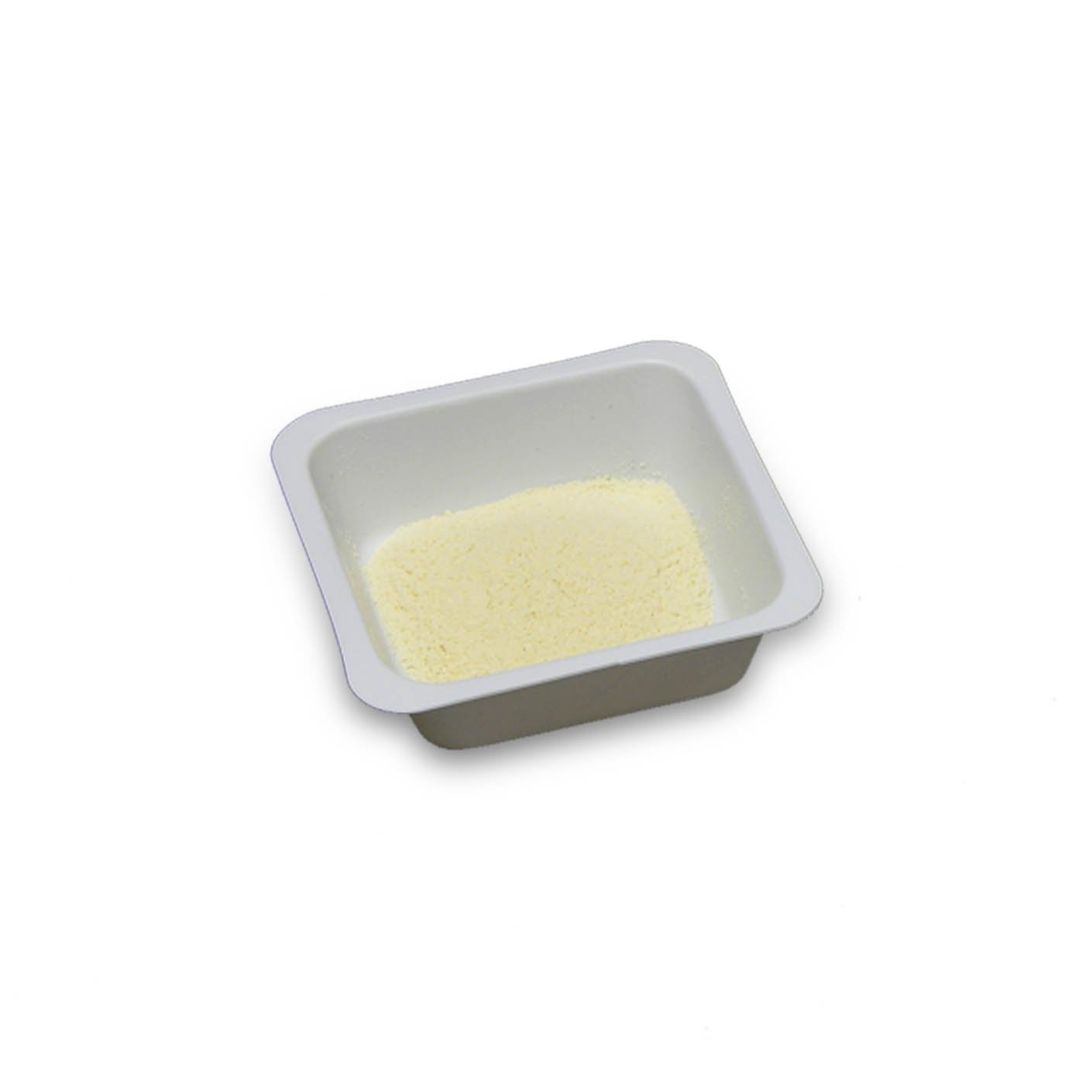 100mL White Antistatic Polystyrene Square Weigh Boat (10 Packs/Case - 500/Pack)