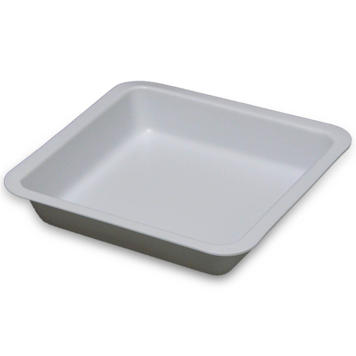 250mL White Antistatic Polystyrene Square Weigh Boat (4 Packs/Case - 500/Pack)