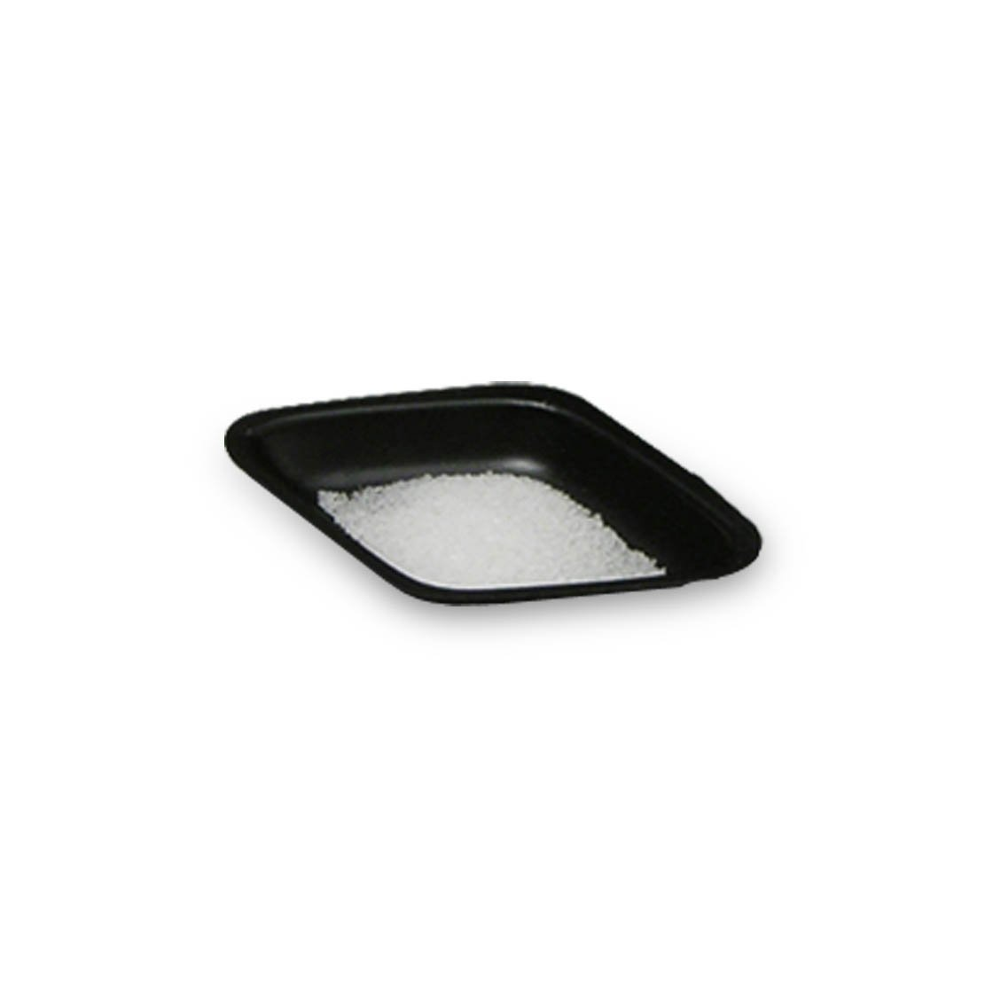 5mL Black Antistatic Polystyrene Diamond Shaped Weigh Boat (30 Packs/Case - 500/Pack)