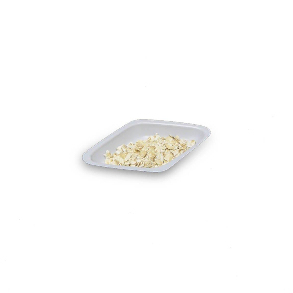 5mL White Antistatic Polystyrene Diamond Shaped Weigh Boat (30 Packs/Case - 500/Pack)