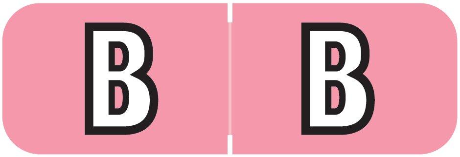 Barkley FABAM Match BAAM Series Alpha Roll Labels - Letter B - Pink Label