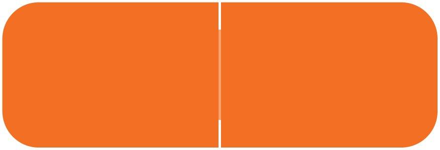 Barkley FXBAM Match BALM Series Solid Color Roll Labels - Orange