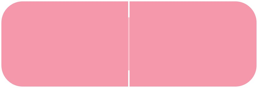 Barkley FXBAM Match BALM Series Solid Color Roll Labels - Pink