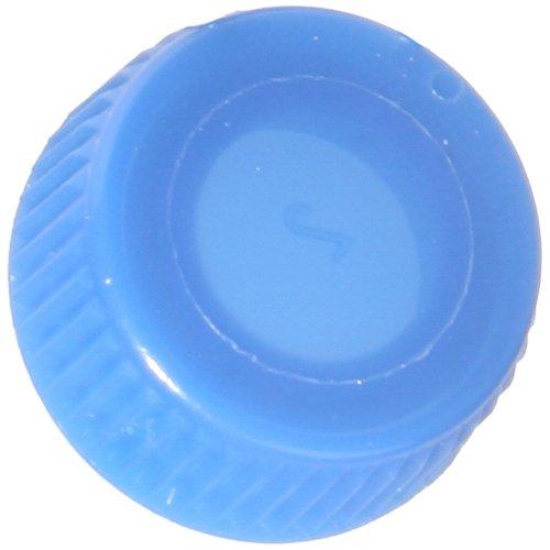 Screw Cap with O-Ring for Bio Plas Screw Cap Microcentriufge Tubes - Blue