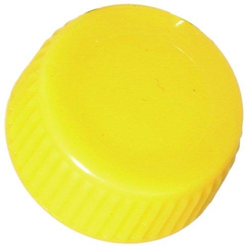 Screw Cap with O-Ring for Bio Plas Screw Cap Microcentriufge Tubes - Yellow