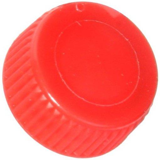 Screw Caps for Bio Plas Screw Cap Microcentriufge Tubes - Red