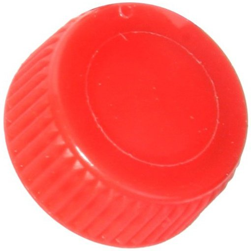 Screw Cap with O-Ring for Bio Plas Screw Cap Microcentriufge Tubes - Red