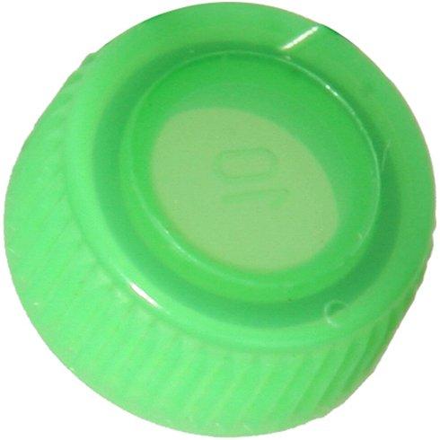 Screw Cap with O-Ring for Bio Plas Screw Cap Microcentriufge Tubes - Green