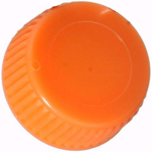 Screw Cap with O-Ring for Bio Plas Screw Cap Microcentriufge Tubes - Orange