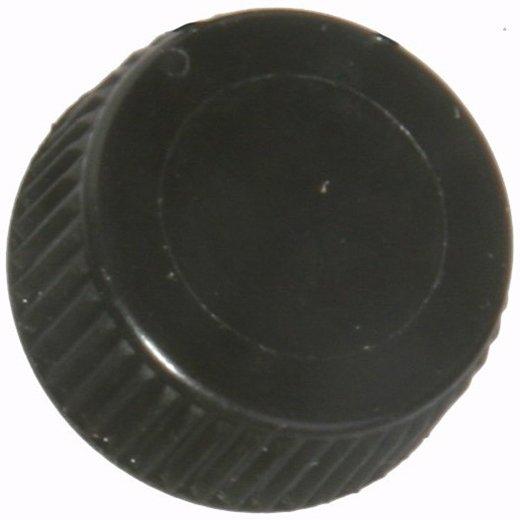 Screw Cap with O-Ring for Bio Plas Screw Cap Microcentriufge Tubes - Black