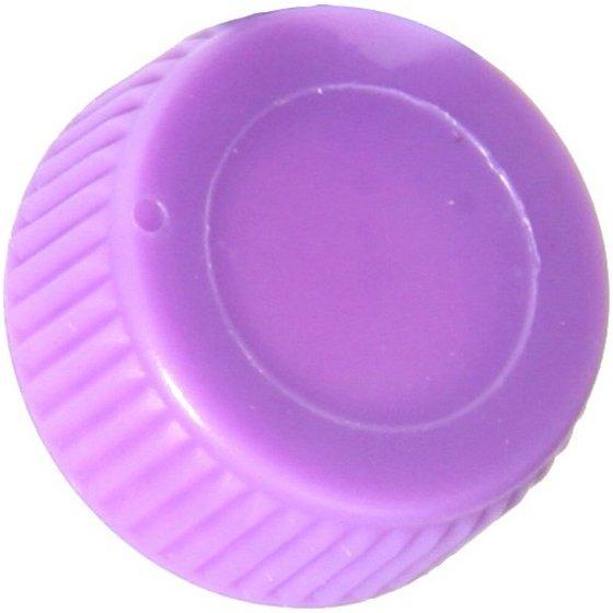 Screw Cap with O-Ring for Bio Plas Screw Cap Microcentriufge Tubes - Violet