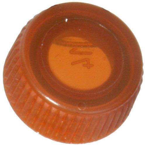 Screw Cap with O-Ring for Bio Plas Screw Cap Microcentriufge Tubes - Amber
