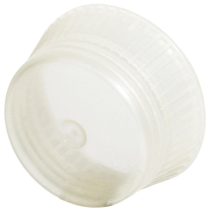 Uni-Flex Safety Caps for 10mm Blood Collecting & Culture Tubes - Natural