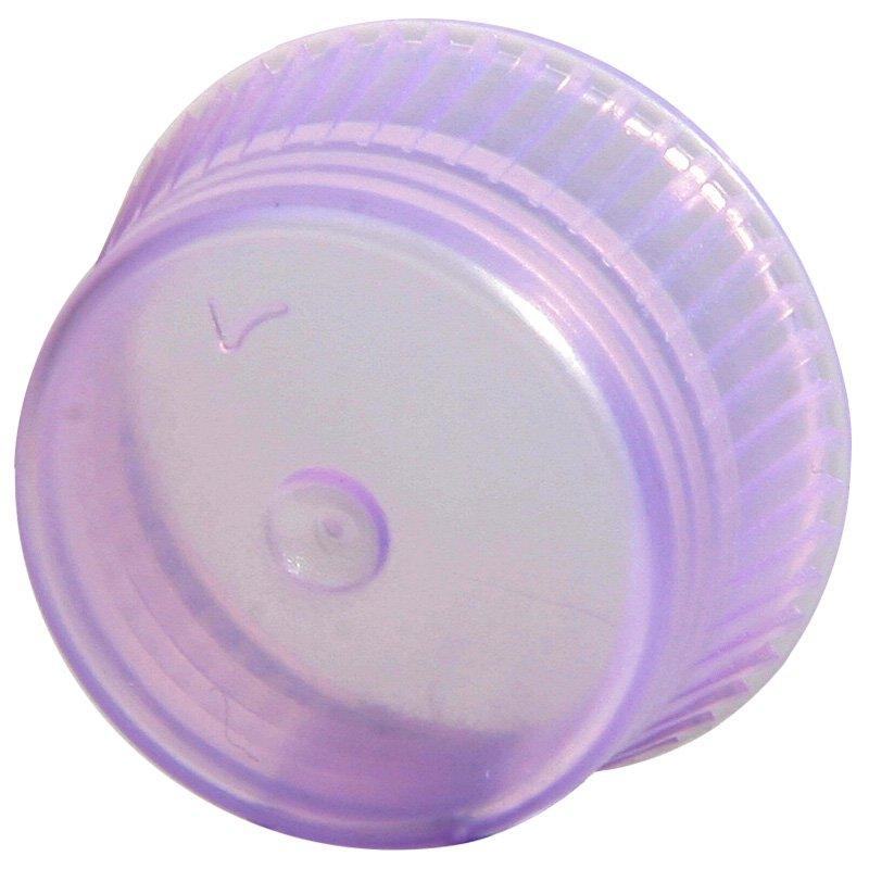 Uni-Flex Safety Caps for 13mm Culture Tubes - Lavender