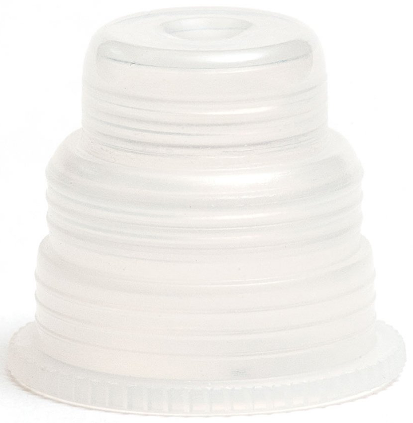 Hexa-Flex Safety Caps For 10mm, 12mm, 13mm, 16mm and 18mm Blood Collection and Culture Tubes - Natural