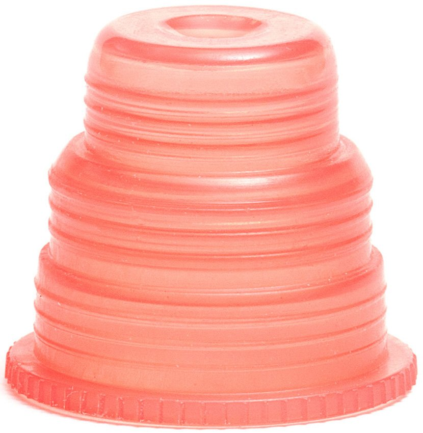 Hexa-Flex Safety Caps For 10mm, 12mm, 13mm, 16mm and 18mm Blood Collection and Culture Tubes - Red