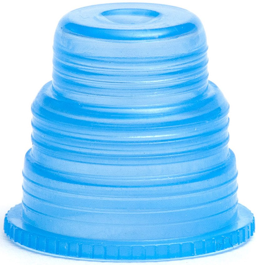 Hexa-Flex Safety Caps For 10mm, 12mm, 13mm, 16mm and 18mm Blood Collection and Culture Tubes - Blue