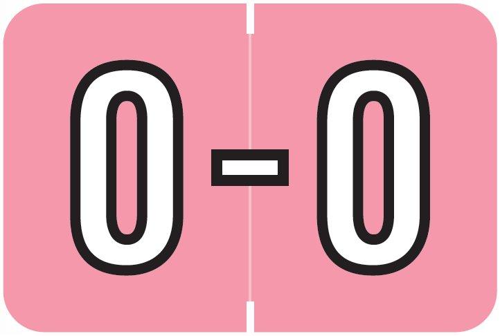 Barkley FABKM Match BRAM Series Alpha Roll Labels - Letter O - Pink Label